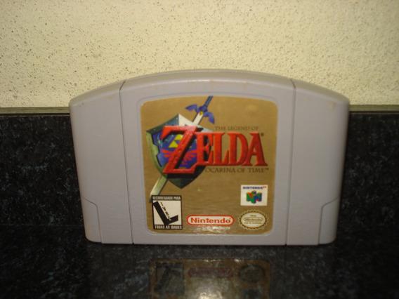 The Legend Of Zelda Ocarina Of Time, Com Manuais E Panfleto