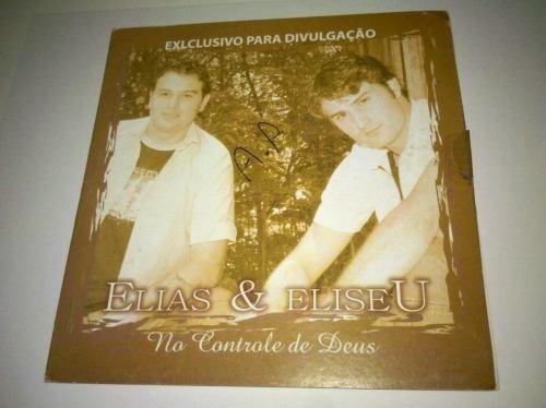 Cd Elias & Eliseu. No Controle De Deus.