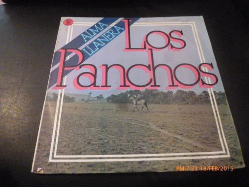 Vinilo Lp De Los Panchos - Alma Llanera (u400