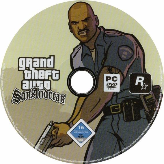 Gta San Andreas Cd Pc Jogos - Video Games no Mercado Livre