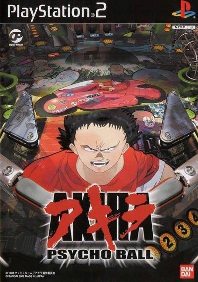 Akira Psycho Ball - Jogo Raro - Playstation 2 -