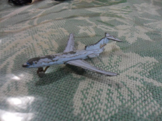 Miniatura De Aeronave Boeing 727 ..avioncito
