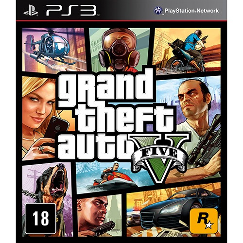 Grand Theft Auto V - Gta 5 - Ps3