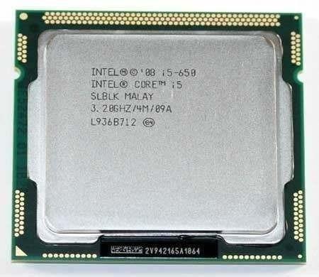 Processador Intel Core I5-650 3,2 Ghz 4mb Cache Oem Lga 1156