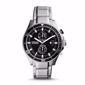 Relógio Fossil Masculino Cronografo Ch2935/1pn Aço Oferta
