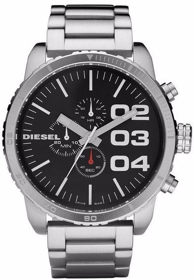 Relógio Diesel Masculino Idz4209/z Aço Cronografo