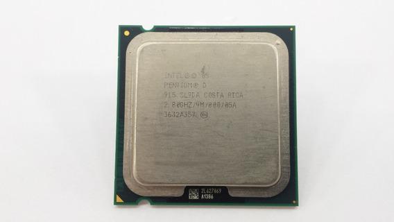 Processador Intel Pentiumd 915 4m 2.80ghz 800mhz Sl9da L775