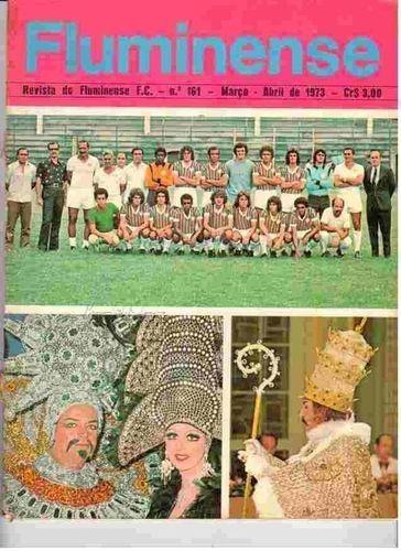 Livro Revista Do Fluminense Fc Nº 161 Fluminense Fc
