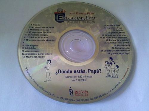 Cd Encuentro Donde Estás Papá? Original.