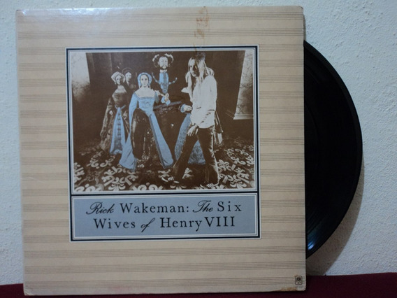 Lp/vinil-rick Wakeman:the Six Wives Of Henry Viii:yes,import