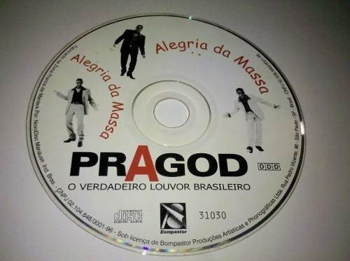 Cd Pragod Pagode Gospel.