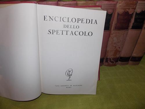 Enciclopedia Dello Spettacolo - D'amico -  11 Tomos