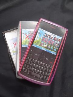 Capa Silicone Original Da Kingo P/ Nokia X2-01