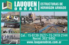 Losas De Hormigón Armado -bases- Columnas-vigas-plateas