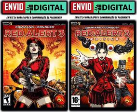 Command & Conquer Red Alert 3 + Uprising -pc- Envio Digital