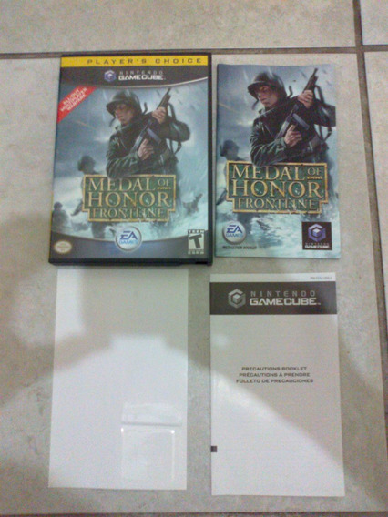 Medal Of Honor Frontline Game Cube Gamecube Original Wii