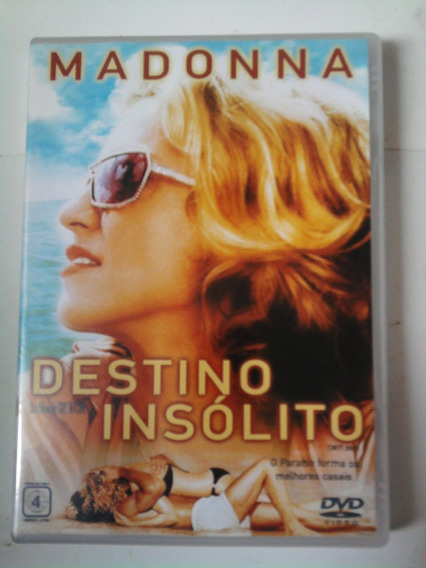 Dvd Destino Insólito - Madonna And Guy Ritchie