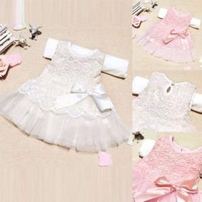 Vestido Renda Bebê Importado Promoção!