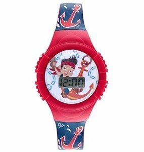 De Lcd Reloj Jake Y Niños Los Piratas Neverland HID2W9YE