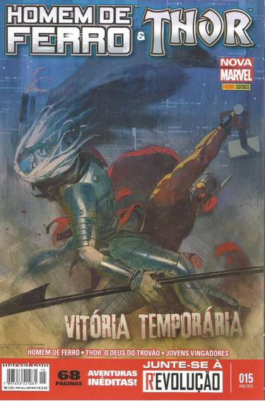 Homem De Ferro & Thor 15 - Panini - Bonellihq Cx95 H19