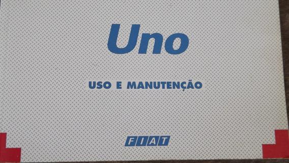 Manual De Instruções Fiat Uno Uso E Manutenção 1996 Adiant