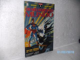Hq Gibi Batman E Super Homem Nº 1 Os Melhores Do Mundo-abril