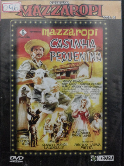 Dvd Mazzaropi Casinha Pequenina Vol 9