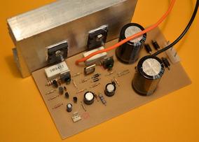 Placa Mono De Amplificador 100w Rms