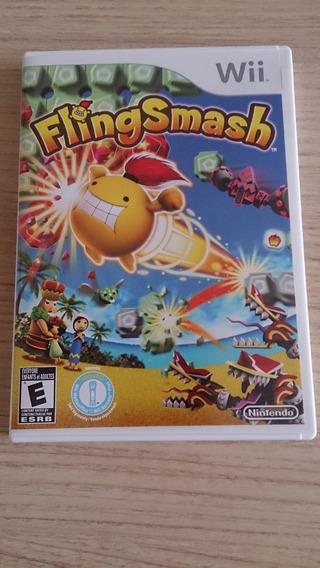 Jogo Fling Smash Original Para Wii