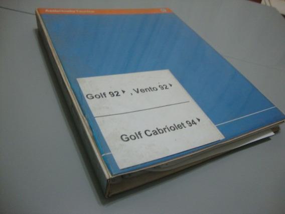 Golf Cabriolet Conversivel Gti Glx Manual Reparos Carroceria