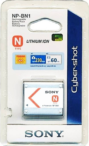 Bateria Sony Np-bn1 - 100% Nova E Original - Frete Grátis