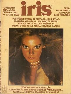 Revista Fotografia Antiga Iris Outubro De 1980 Perfeita Rara