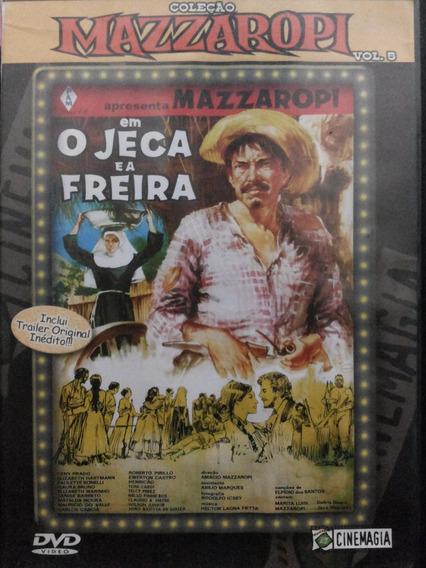Dvd Mazzaropi O Jeca E A Freira Vol 5