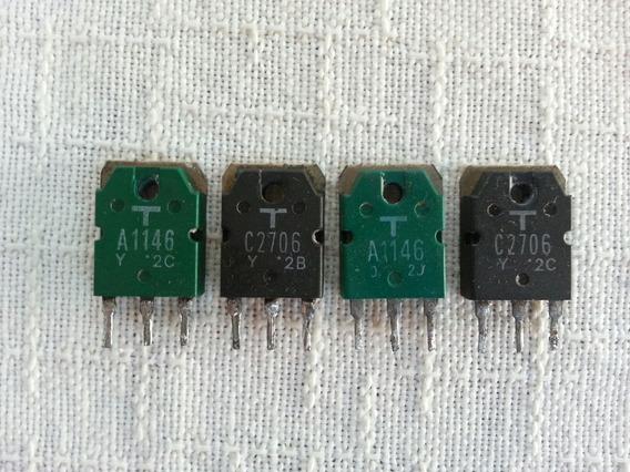 Transístores Toshiba Amplificador Gradiente 166 Originais