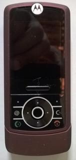 Carcaça Motorola Z3 Vinho Parte Frontal. Original Motorola