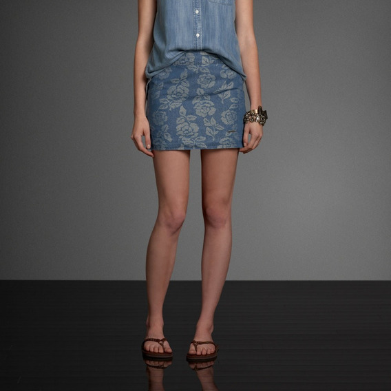 Mini Saia Feminina Abercrombie Camisetas Hollister Blusa Gap