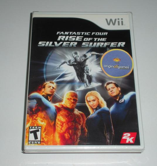 Quarteto Fantástico Silver Surfer | Wii Mídia Física Origina