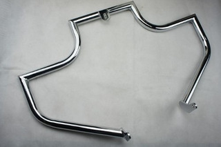 Defensa Para Harley Davidson Softail Cromada Lindby