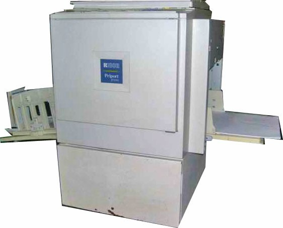 Duplicador Copyprinter Ricoh Priport Jp3000 Fotocopiadora...