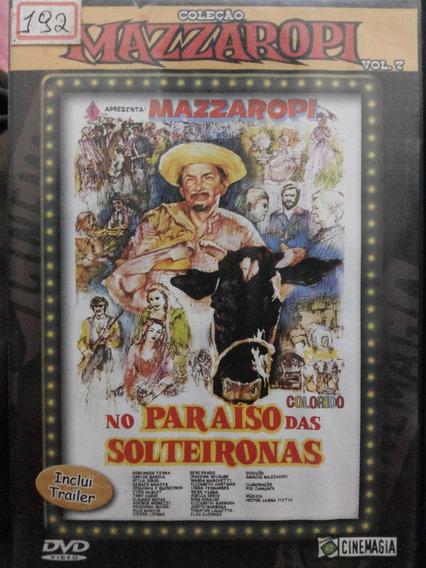 Dvd Mazzaropi No Paraíso Das Solteironas Vol 7