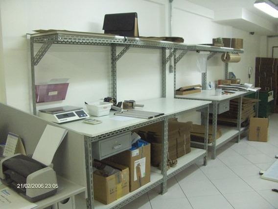 Bancada Para Eletrônica ( Estrutura De Aço ) 1,00 M Compr.
