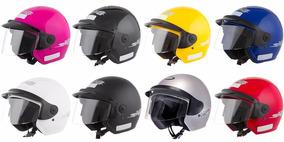 Capacete Motociclista Aberto Pro Tork Liberty Three 8 Cores