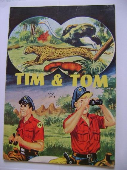 Tim & Tom Nº9 Editorial Lord Cochrane Ótimo!