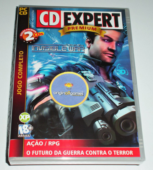 Deus Ex Invisible War ¦ Jogo Pc Original Lacrado ¦ M Física
