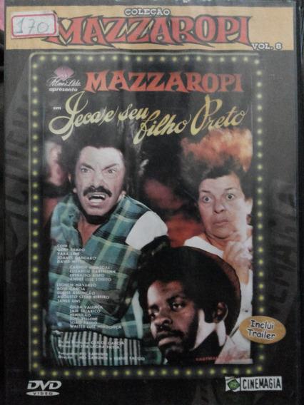 Dvd Mazzaropi Jeca E Seu Filho Preto Vol 8