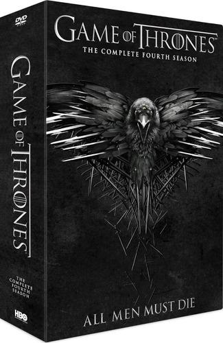 Game Of Thrones, Temporada 4 En Dvd, Nueva Y Original