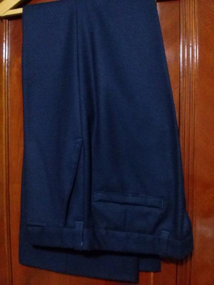 Pantalon De Vestir Lana C/poliester Talle 48
