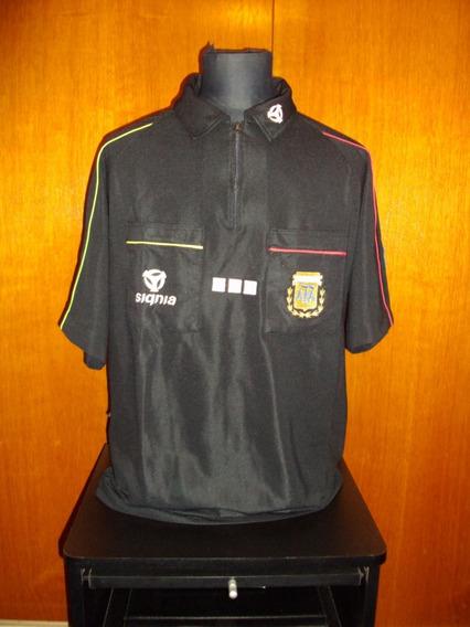 Camiseta Arbitro Signia 100% De Utileria