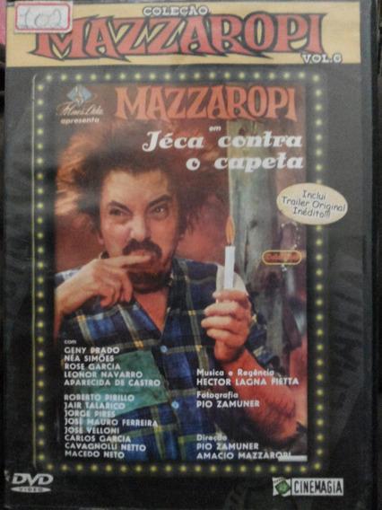 Dvd Mazzaropi Jéca Contra O Capeta Vol 6