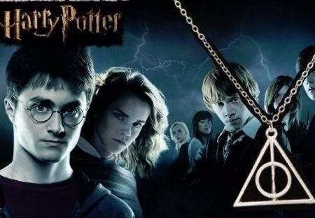 Colar Harry Potter Hp7 - Dia Das Crianças